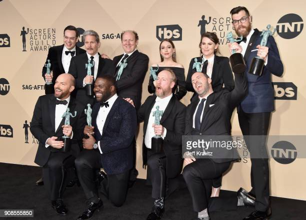 Actors Nelson Franklin Gary Cole Dan Bakkedahl Sarah Sutherland Clea DuVall Timothy Simons Paul Schee Sam Richardson Matt Walsh and Tony Hale of...
