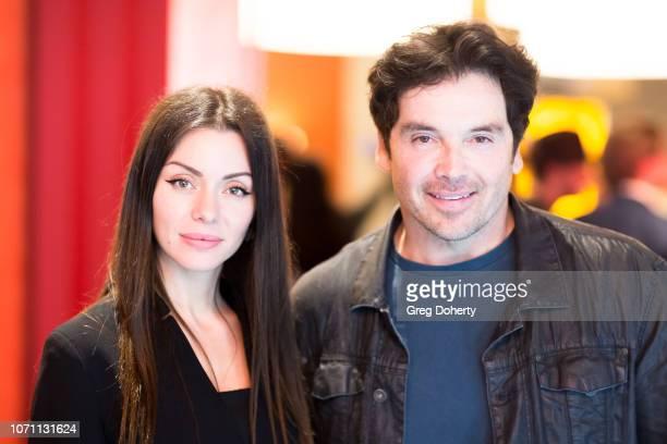 Actors Neraida Bega and Jason Gedrick attend a screening of Acts Of Desperation At Culver City Film Festival Starring Paul Sorvino Kira Reed Lorsch...