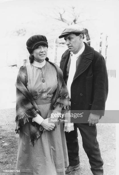 Actors Nerys Hughes and John Ogwen in a scene from the television series 'The District Nurse' April 15th 1983 First printed in Radio Times issue 3139...
