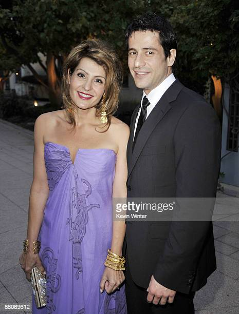 Actors Nia Vardalos and Alexis Georgoulis pose at the premiere of Fox Searchlight's My Life in Ruins at the Zanuck Theater on May 29 2009 in Los...