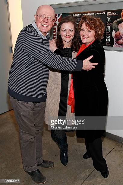 Actors Niall Buggy Beth Cooke and Brenda Blethyn attend the opening night of Haunted at 59E59 Theaters on December 8 2010 in New York City