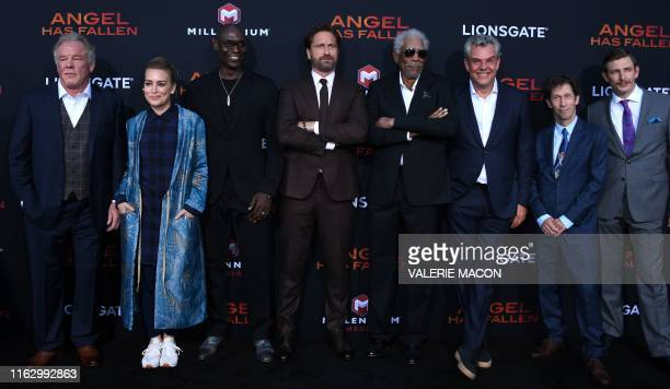 US actors Nick NoltePiper Perabo Lance Reddick Scottish actor Gerard Butler US actors Morgan Freeman Danny Huston Blake Nelson and English actor...