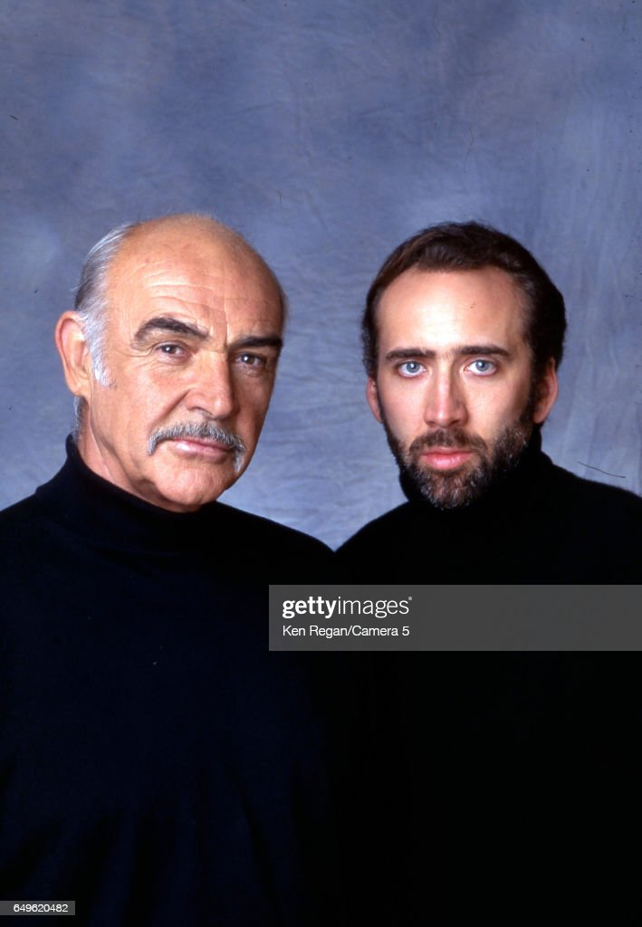 Sean Connery and Nicolas Cage, Entertainment Weekly, June 14, 1996