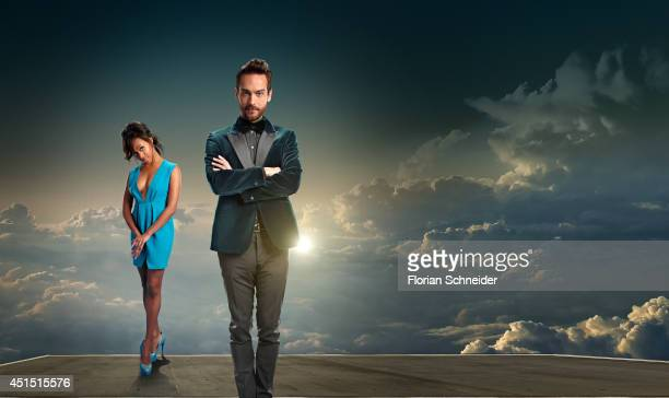 Actors Nicole Beharie and Tom Mison are photographed for Emmy Magazine on February 4 in Los Angeles California PUBLISHED IMAGE