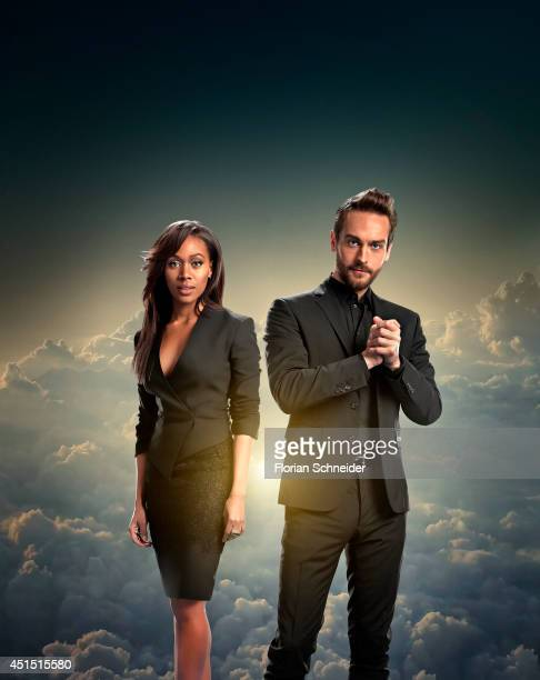 Actors Nicole Beharie and Tom Mison are photographed for Emmy Magazine on February 4 in Los Angeles California PUBLISHED COVER