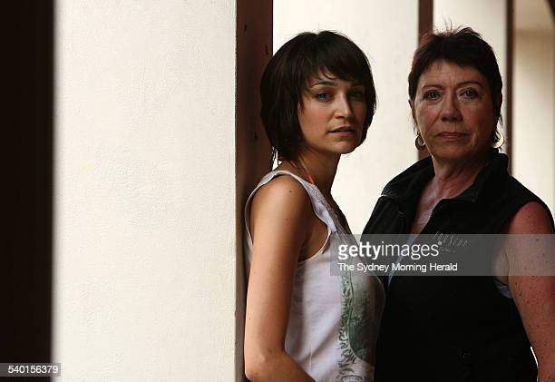Actors Nicole da Silva and Sandy Gore who feature in a production of 'A Life in the Theatre' 21 November 2006 SMH Picture by SAHLAN HAYES