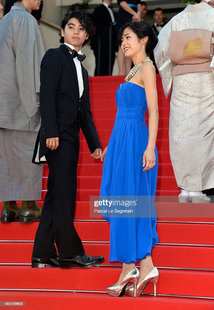 """""""Futatsume No Mado"""" Premiere - The 67th Annual Cannes Film Festival : News Photo"""