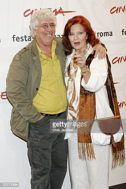 Actors Ninetto Davoli and Agostina Belli attend a photocall to promote the movie Uno Su Due on the second day of Rome Film Festival on October 14...