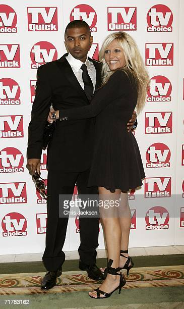 Actors Noel Clarke and Camille Coduri arrive at the TV Quick and TV Choice Awards at the Dorchester Hotel Park Lane on September 4 2006 in London...