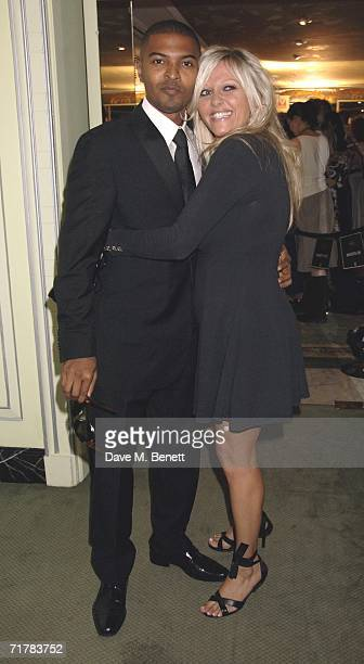 Actors Noel Clarke and Camille Coduri arrive at the TV Quick TV Choice Awards acknowledging the most popular TV programmes and stars in 16 categories...