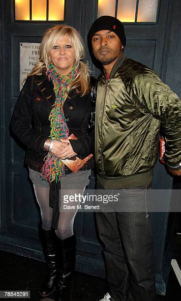 Actors Noel Clarke and Camille Coduri attend the gala screening of the 'Doctor Who' Christmas episode at the Science Museum December 18 2007 in...