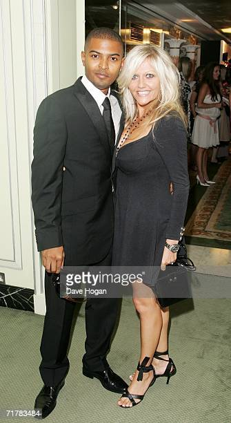 Actors Noel Clarke and Camille Coduri attend the TV Quick and TV Choice Awards at the Dorchester Hotel Park Lane on September 4 2006 in London...
