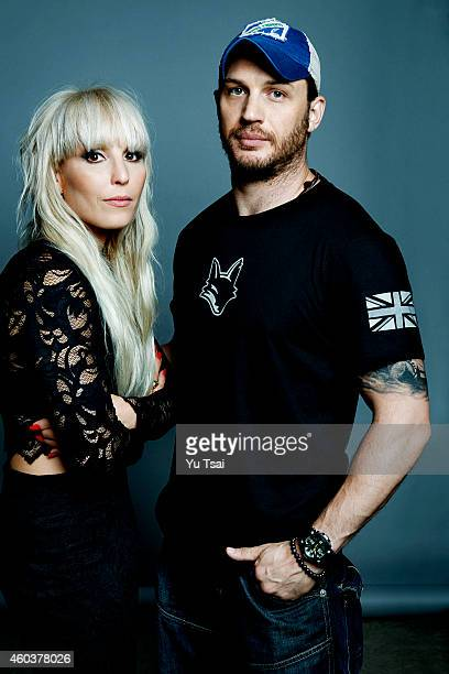 Actors Noomi Rapace and Tom Hardy are photographed at the Toronto Film Festival for Variety on September 6 2014 in Toronto Ontario