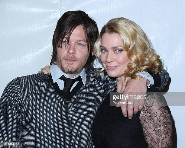 Actors Norman Reedus and Laurie Holden attend the 30th Annual PaleyFest featuring the cast of 'The Walking Dead' at Saban Theatre on March 1 2013 in...