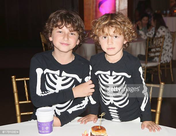 Actors Ocean Maturo and August Maturo attend Starlight's Dream Halloween 2016 on October 22 2016 in Los Angeles California