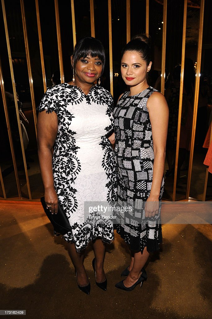 Actors Octavia Spencer and Melonie Diaz attend the after party at the New York premiere of FRUITVALE STATION, hosted by The Weinstein Company, BET Films and CIROC Vodka on July 8, 2013 in New York City.