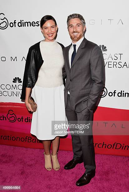 Actors Odette Annable and Dave Annable attend the 2015 March Of Dimes Celebration Of Babies at the Beverly Wilshire Four Seasons Hotel on December 4,...