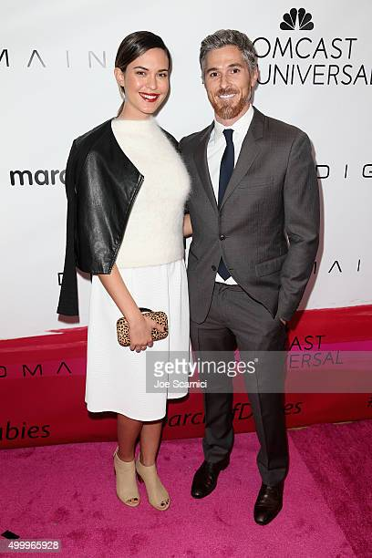 Actors Odette Annable and Dave Annable attend the 2015 March Of Dimes Celebration Of Babies at the Beverly Wilshire Four Seasons Hotel on December 4...