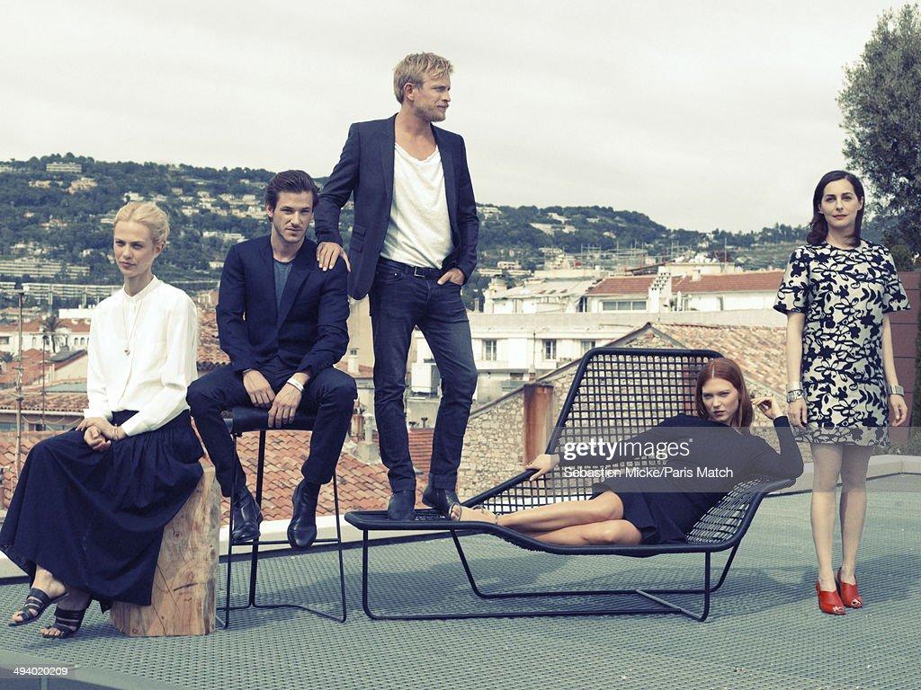The Cast of Saint Laurent, Paris Match Issue 3392, May 28, 2014