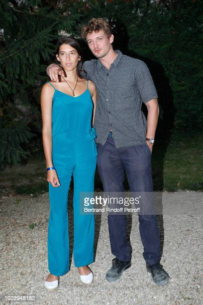 Actors of the film 'Un amour impossible' Estelle Lescure and Niels Schneider attend the 11th Angouleme FrenchSpeaking Film Festival Day Six on August...