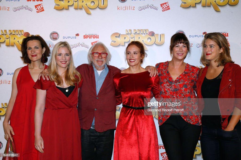 """""""Le Petit Spirou"""" Paris Premiere At Le Grand Rex"""