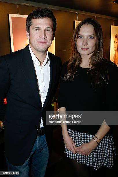 Actors of the movie Guillaume Canet and Ana Girardot attend the 'La prochaine fois je viserai le coeur' Paris Premiere at UGC Cine Cite Bercy on...