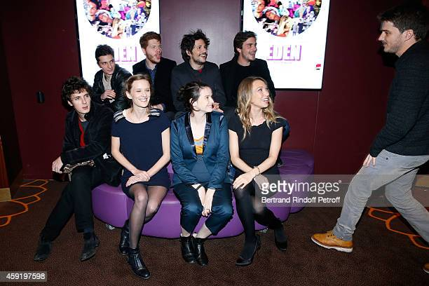 Actors of the movie Hugo Conzelmann Felix de Givry Roman Kolinka Director Milla HanselLove actresses of the movie Pauline Etienne Laura Smet and...