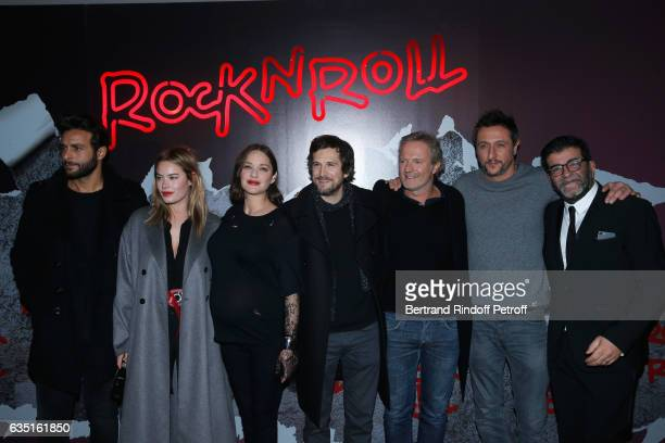 Actors of the movie Maxim Nucci Marion Cotillard Camille Rowe Director of the movie Guillaume Canet Philippe Lefebvre another actor and Producer of...