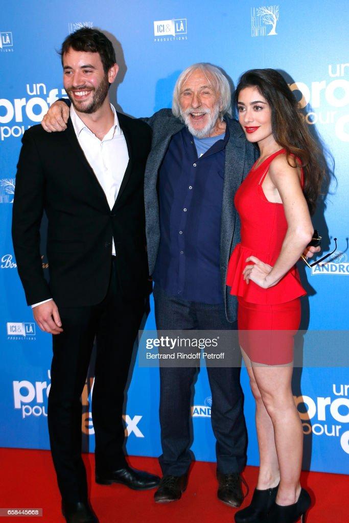 """""""Un Profil Pour Deux"""" Paris Premiere At UGC Normandie"""