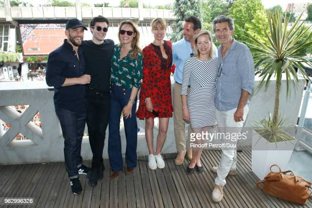 Actors of the new series that will be broadcast on France 2 in September Moise Santamaria Gary Guenaire Melanie Maudran MarieGaelle Cals Jeremy...