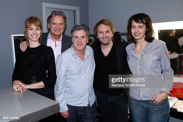 Actors of the piece Pauline Lefevre FrancoisEric Gendron Daniel Auteuil Autor of the piece Florian Zeller and Actress of the piece Valerie Bonneton...