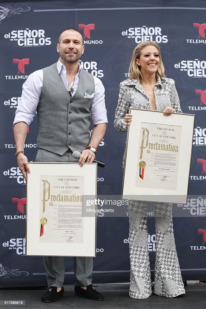 New York City Council Member Ydanis Rodriguez And New York State Sen. Adriano Espaillat Honor Rafael Amaya And Fernanda Castillo