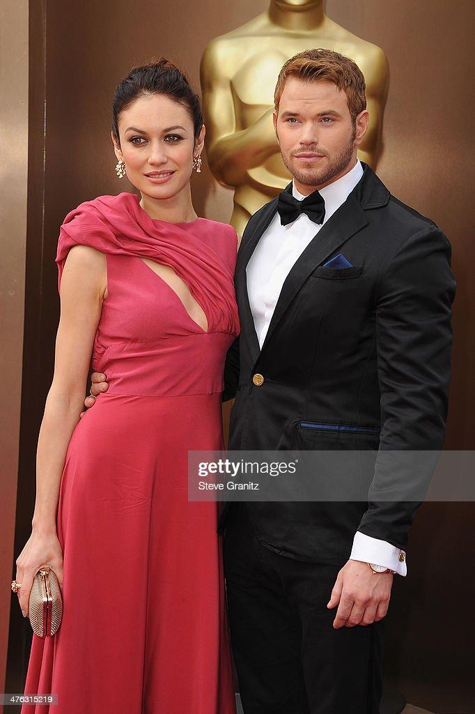 Kellan Lutz dating Olga Glee Finn och Rachel dating i verkliga livet