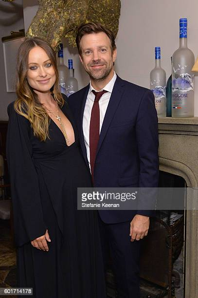 Actors Olivia Wilde and Jason Sudeikis at the Colossal TIFF party hosted by GREY GOOSE Vodka and Soho House Toronto on September 9 2016 in Toronto...