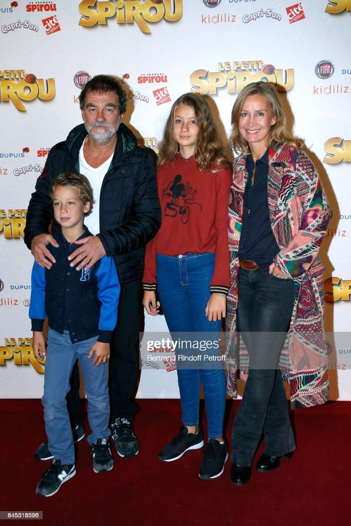 """""""Le Petit Spirou"""" Paris Premiere At Le Grand Rex : Nieuwsfoto's"""