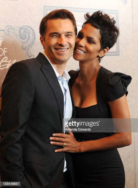Actors Olivier Martinez and Halle Berry at Variety's 4th Annual Power of Women Event Presented by Lifetime at the Beverly Wilshire Four Seasons Hotel...