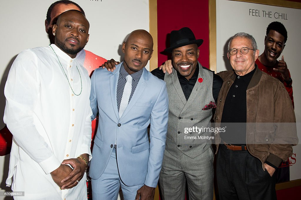 Almost Christmas Actor Omar.Actors Omar Epps And Romany Malco Producer Will Packer And