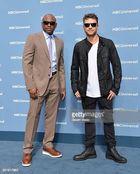 Actors Omar Epps and Ryan Phillippe attends the NBCUniversal 2016 Upfront Presentation on May 16 2016 in New York New York