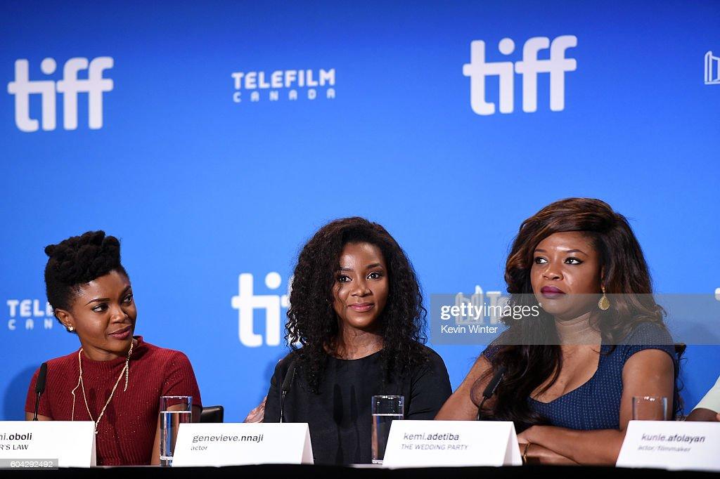 2016 Toronto International Film Festival - City To City Press Conference : News Photo