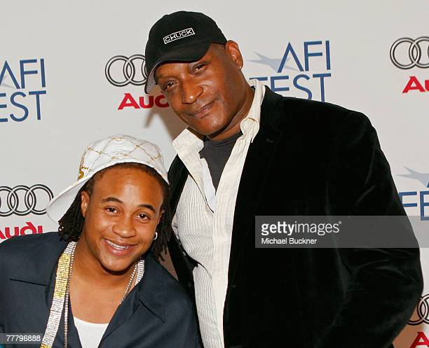Actors Orlando Brown and Tony Todd arrive at the world premiere of Public Enemy during AFI FEST 2007 presented by Audi held at Arclight Cinemas on...