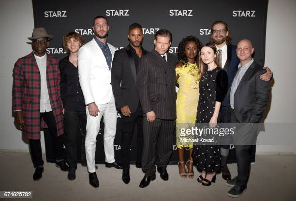 Actors Orlando Jones Bruce Langley Pablo Schreiber Ricky Whittle Crispin Glover Yetide Badaki Emily Browning Producer/showrunner Bryan Fuller and...