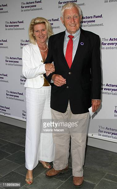 Actors Orson Bean and Alley Mills arrive at The Actors Fund's 15th Annual Tony Awards Party on June 12 2011 in Los Angeles California
