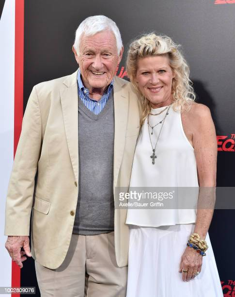 Actors Orson Bean and Alley Mills attend the premiere of Columbia Picture's 'The Equalizer 2' at TCL Chinese Theatre on July 17 2018 in Hollywood...