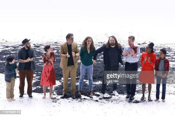 Actors Orson Hong, Victor Almanzar, Madeline Weinstein, Bobby Cannavale, Rose Byrne, director Simon Stone, actors Dylan Baker, Jordan Boatman and...