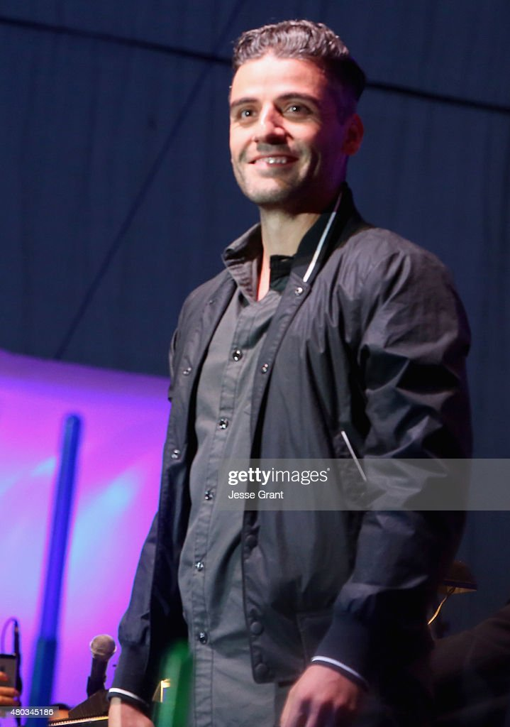 Actors Oscar Isaac and more than 6000 fans enjoyed a surprise 'Star Wars' Fan Concert performed by the San Diego Symphony, featuring the classic 'Star Wars' music of composer John Williams, at the Embarcadero Marina Park South on July 10, 2015 in San Diego, California.