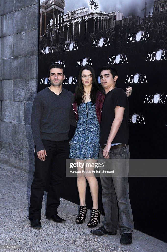 Film 'Agora' Press Conference