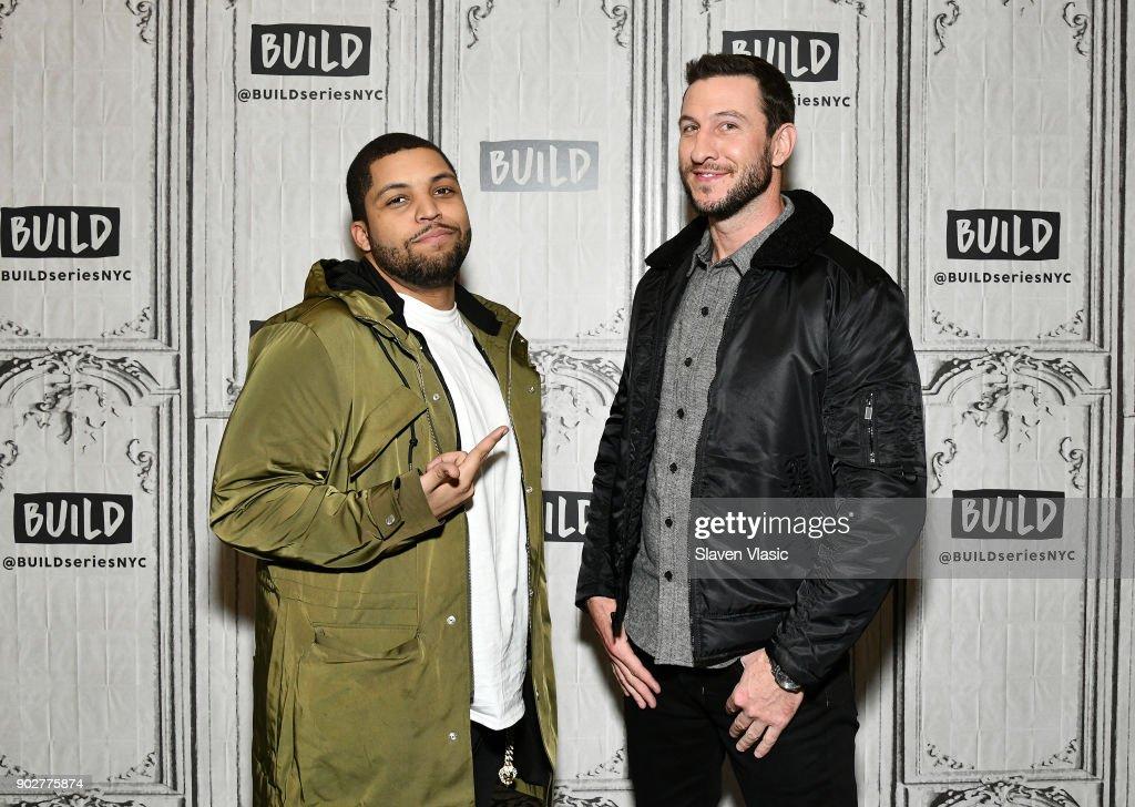 Celebrities Visit Build - January 8, 2018