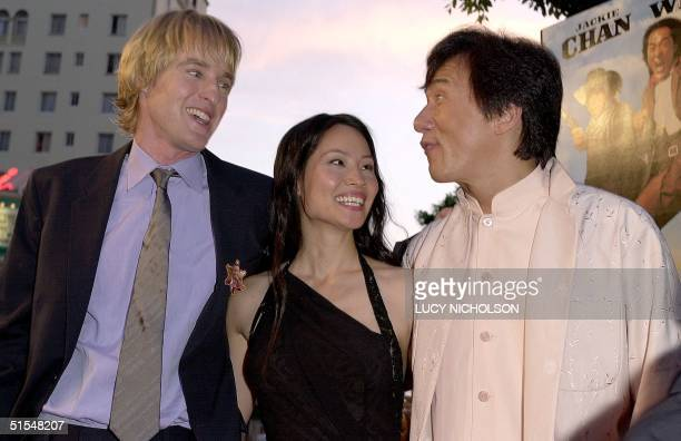 Us Jackie Chan Owen Wilson Stock Photos And Pictures
