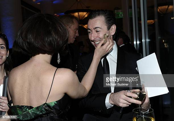 Actors Parker Posey and Alan Cumming during the 12th Annual Costume Designers Guild Awards with Presenting Sponsor Swarovski at The Beverly Hilton...