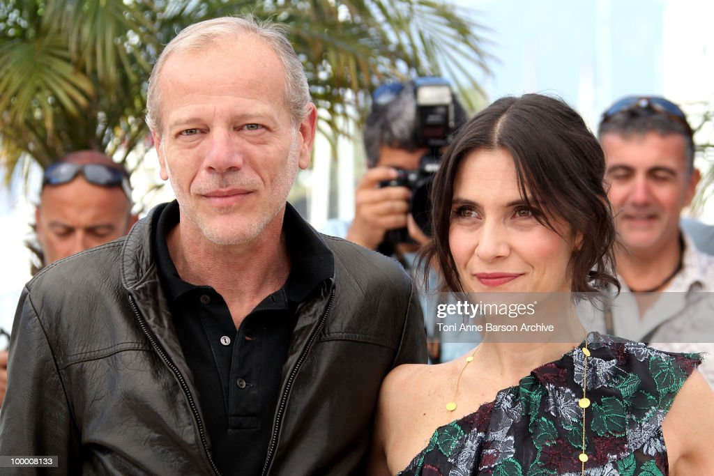 Actors Pascal Greggory and Geraldine Pailhas attend the 'Rebecca H. (Return to the Dogs)' Photo Call held at the Palais des Festivals during the 63rd Annual International Cannes Film Festival on May 20, 2010 in Cannes, France.